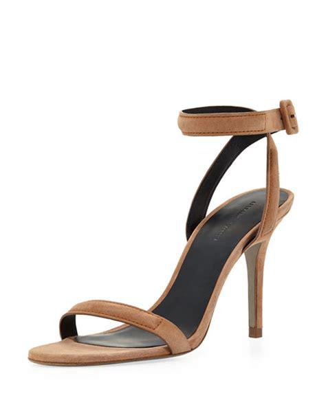 wang antonia sandal wang antonia ankle wrap sandal beige