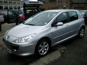 Silver Peugeot 307 Used Peugeot 307 2007 Petrol 1 6 S 5dr Auto Hatchback