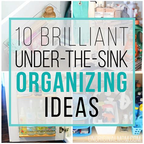 sink organization ideas 10 brilliant the sink organization ideas