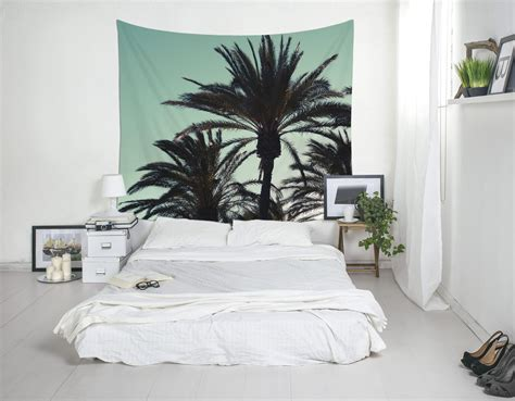 palm tree decor for bedroom palm tree tapestry tropical wall art bedroom wall decor
