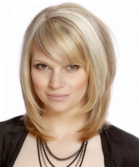 Medium Hairstyles With Bangs Layered medium layered hairstyles with bangs 15 medium layered