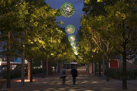 park lights 2015 al design awards elizabeth olympic park