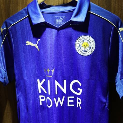 Original Jersey Leicester 16 17 Home Bnwt leicester city 16 17 home kit released footy headlines