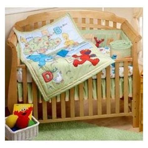 Sesame Crib Set by Family Sesame Crib Bedding A