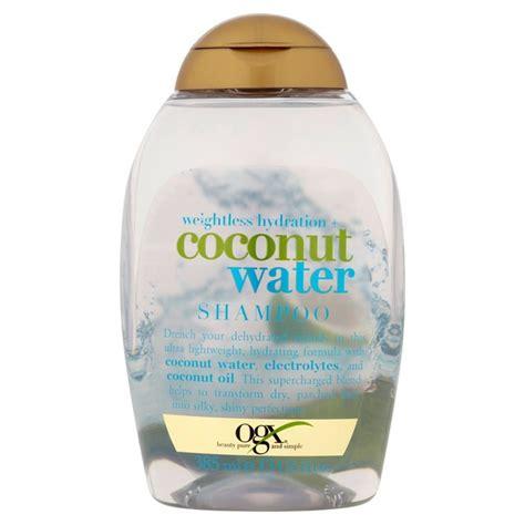ogx shoo coconut water morrisons ogx weightless hydration coconut water shoo