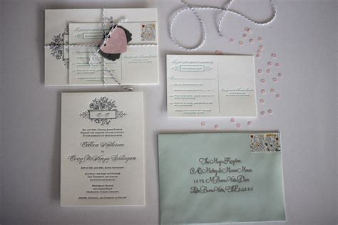 diy wedding invitation twine fancying up your wedding invitations diy two delighted