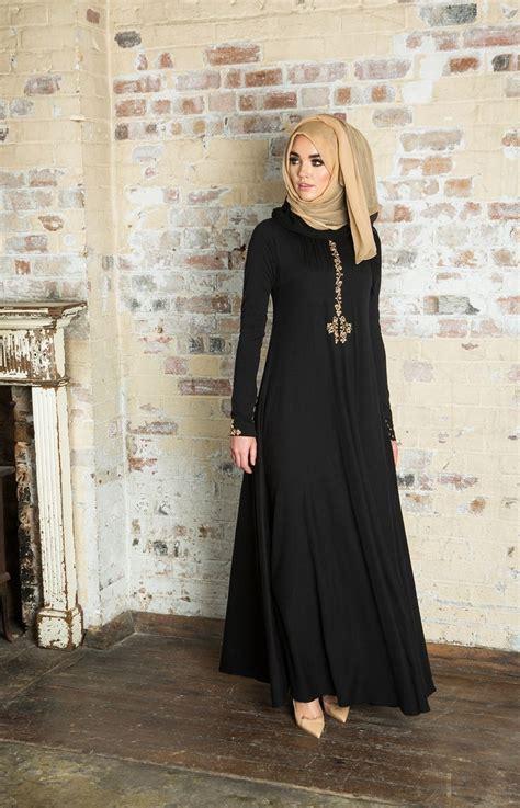 New Ayako Fashion Dress Muslim Maxi Safirah Hitam Hgb 74 best borkha images on black abaya styles and abaya fashion
