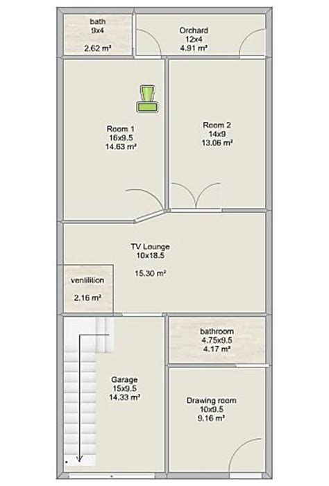 home map design online free winner 3 marla design of house 17 by 45 ea english