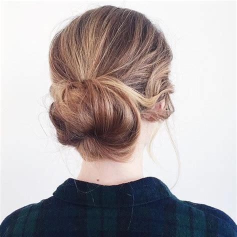 Low Bun Hairstyles by 20 Lovely Low Bun Hairstyles