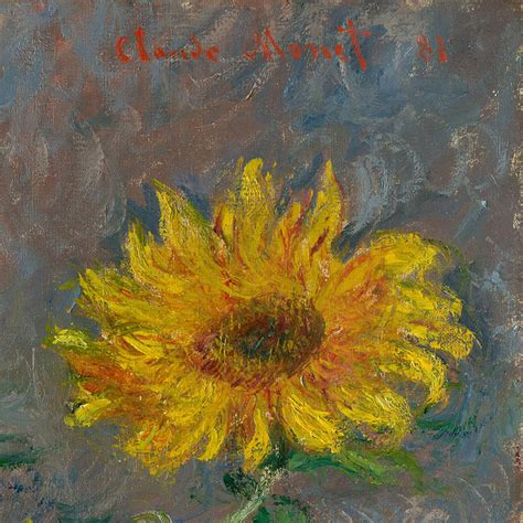 Point Of View The Yellow Wallpaper Essays by Claude Monet Bouquet Of Sunflowers The Met