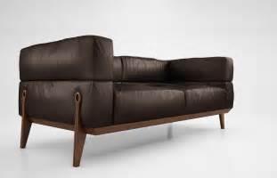 italian leather sofa giorgetti ago sofa 3d model max obj cgtrader com