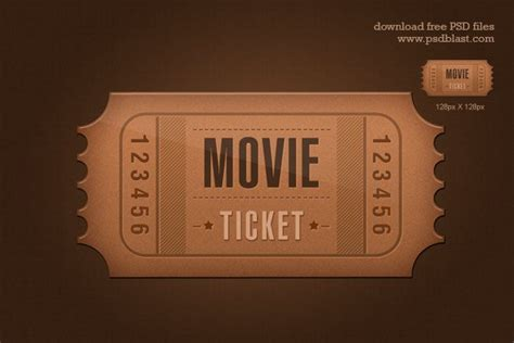 ticket template psd ticket icon psd vector 365psd