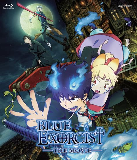 download film anime exorcist blue exorcist the movie blu ray