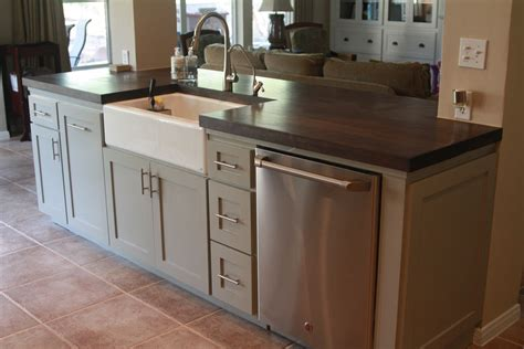 island kitchen sink the possibilities of storage kitchen islands with