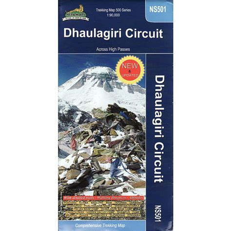 Trekking Pole Dhaulagiri 102 equipment books maps dhaulagiri circuit map jagged globe