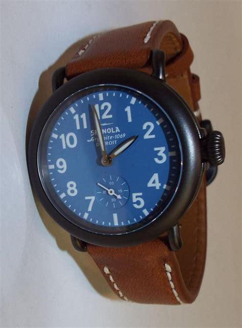 shinola argonite 1069 detroit wrist