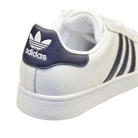 Adidas White Superstar adidas adidas superstar 2 white navy gd2 g17070 mens trainers adidas from brands uk uk