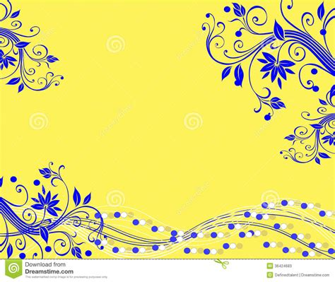 background design yellow blue yellow and blue background design