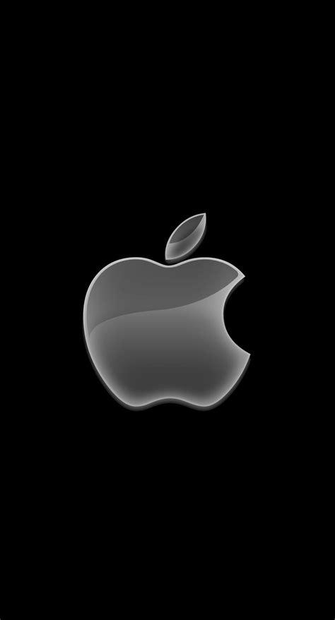 black wallpaper hd for iphone 6 plus apple logo black cool wallpaper sc iphone6splus