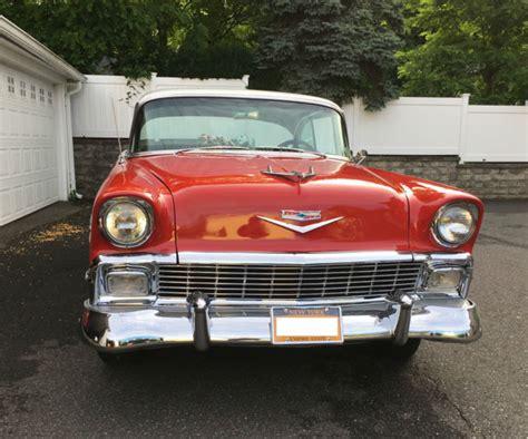 1956 Chevrolet 4 Door Hardtop For Sale by 1956 Chevrolet Bel Air Hardtop 2 Door Small Block 350 4