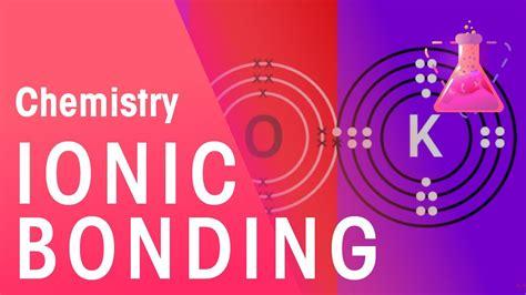 ionic bonding  lithium fluoride potassium oxide
