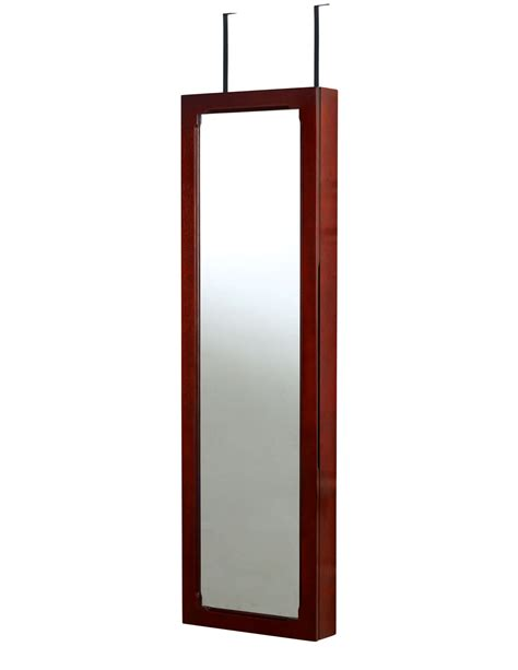 door mirror jewelry armoire hives honey over the door mirror jewelry armoire shop your way online shopping