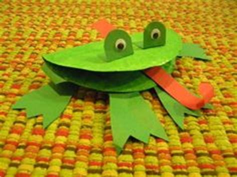 How To Make A Paper Frog Tongue - preschool reptiles and hibians on snake