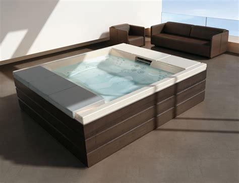 teuco bathtub outdoor recessed bathtub from teuco new hydrospa seaside 640