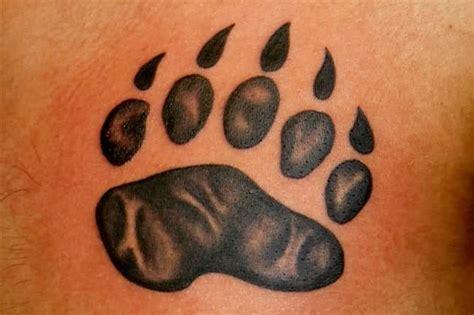 simple bear tattoo simple tattoos