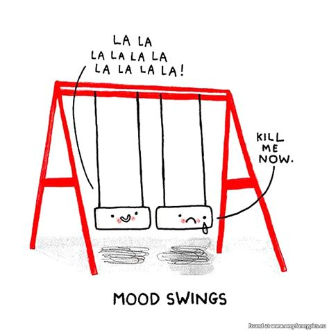 what causes bad mood swings bad mood swings funny quotes quotesgram