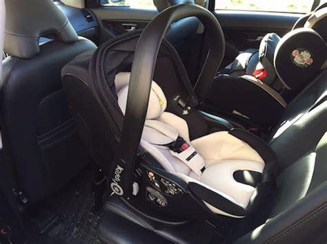 Babyschale Im Auto Befestigen by Kiddy Evo Lunafix Babyschale Im Praxis Test