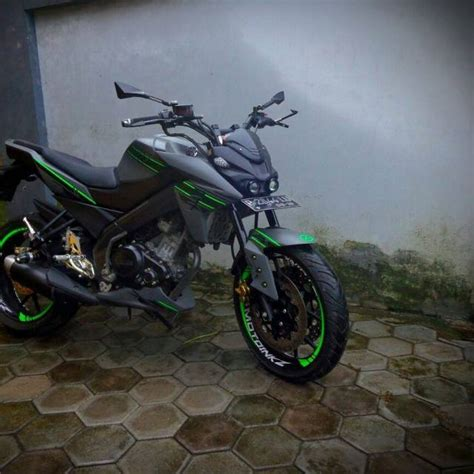 Knalpot Racing Buat Yamaha Vixion New R15 Xabre modifikasi new vixion headl xabre knalpot r25 keren banget