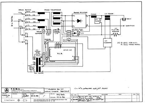plasma cutter diagram circuit diagram