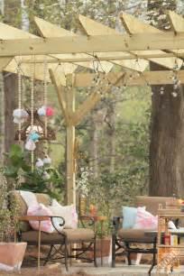How To Decorate A Pergola by Backyard Patio Ideas A Pergola Diy Decor And Family Fun