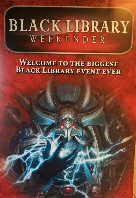 black library my favourite books black library weekender our write up