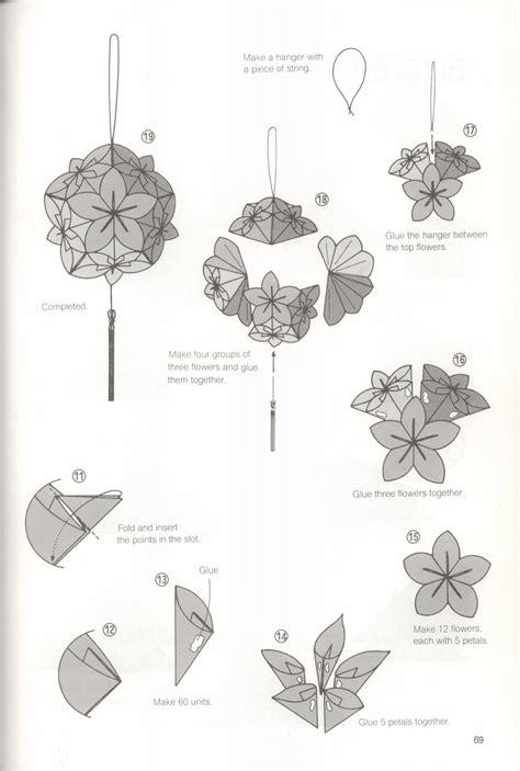 printable kusudama instructions kusudama ball origami morning dew 2 paper kawaii