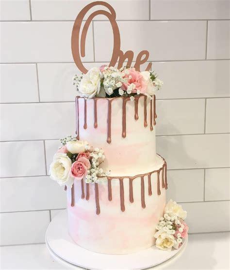 Copper Decorations Home Watercolour Cakes Wedding Cakes Melbourne Creme De La