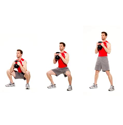 squat swing beginner s workout guide to kettlebells
