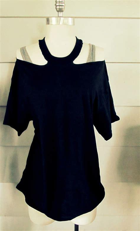 diy refashion clothes diy clothes refashion diy no sew jewelled halter t shirt