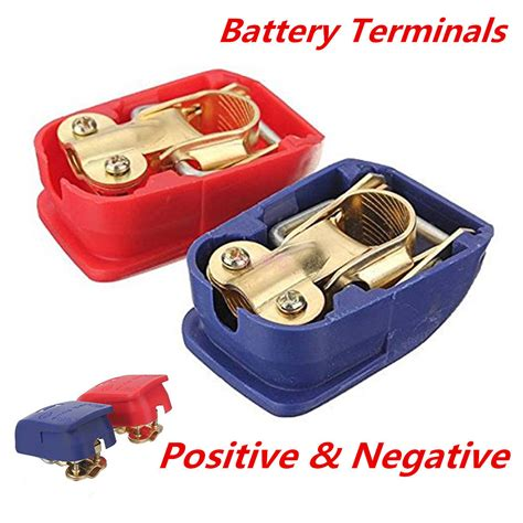 what color is positive on a battery blue release battery cls terminals leisure