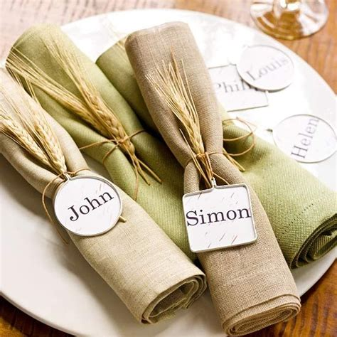 Indian And Pilgrim Photo Place Cards And Napkin Ring Template by Easy To Make Place Cards And Napkin Rings For A