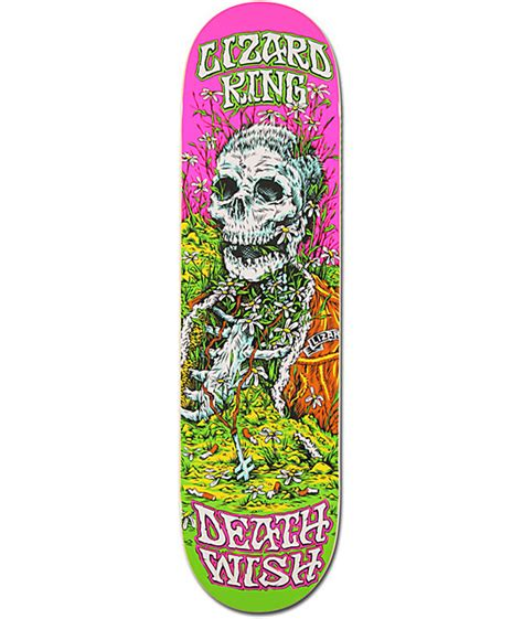 Deathwish Deck by Deathwish Lizard King Buried Alive 8 25 Quot Skateboard Deck