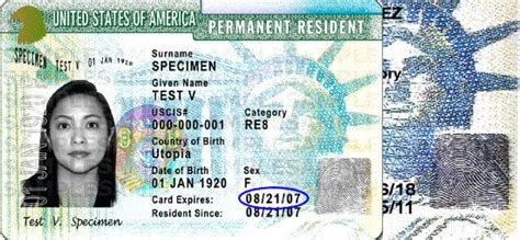 resident green card template detecting identification documents verify i 9 llc