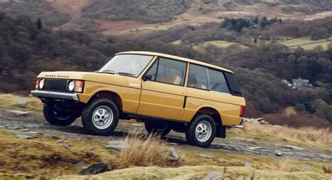 old range rover land rover to release brand new 1978 3 door range rover
