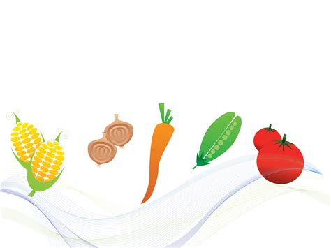 Vegetables Foods Backgrounds Foods Drinks Green Red Yellow Templates Free Ppt Grounds Food Powerpoint Templates Free