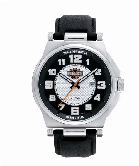 Harley Davidson Bulova Blk White 1000 images about s h d watches on bulova