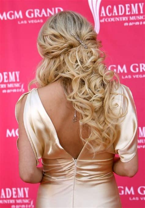 carrie underwood hairstyles hairstyles weekly hottest carrie underwood sexy curly half up half down hairstyle