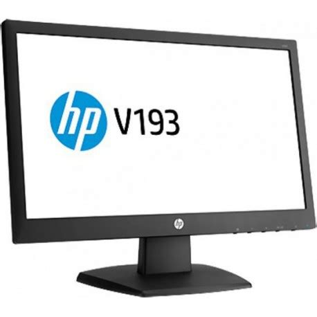 Hp V193b Monitor Led monitor hp v193b 19 5