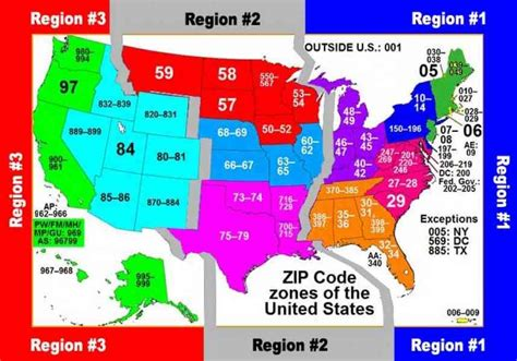us time zone map by zip code map of u s zip codes holidaymapq