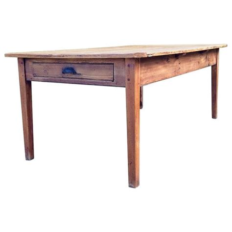 pine farmhouse kitchen table farmhouse pine kitchen table rustic at 1stdibs